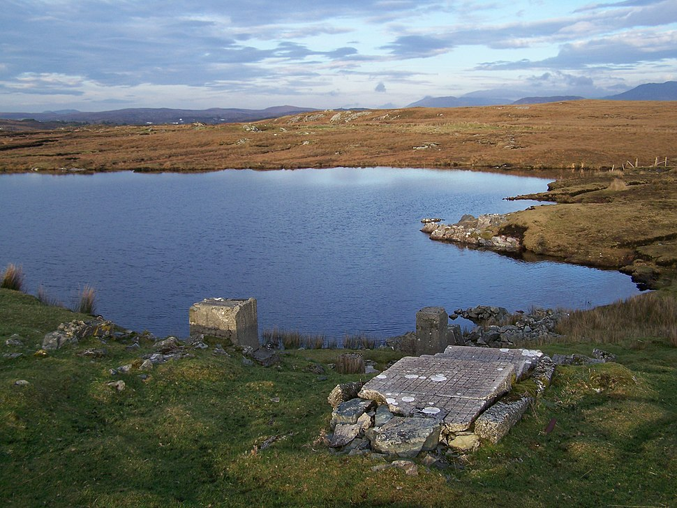 Remains of the Marconi transatlantic wireless station