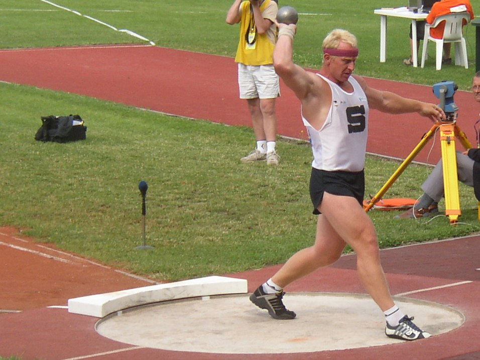 Remigius Machura senior CZ championships in athletics Kladno 2005