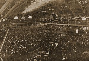 1908 Republican National Convention - The 1908 Republican National Convention in session.