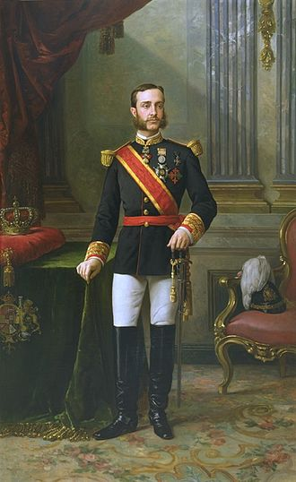 Restoration (Spain) - Portrait of Alfonso XII.