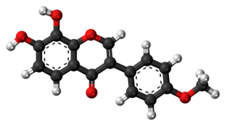 Retusin (isoflavone) - Image: Retusin (isoflavone) 3D balls