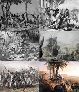 Haitian Revolution 1791–1804 slave revolt in the French colony of Saint-Domingue