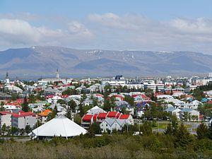 Hlíðar - Skyline of Hlíðar