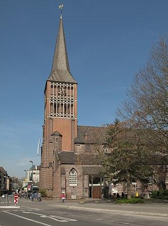 Rheydt - Image: Rheydt, die Sankt Marienkirche foto 1 2014 03 29 12.38