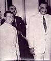 Riad al-Bandak with President Gamal Abdel Nasser - 1954.jpg
