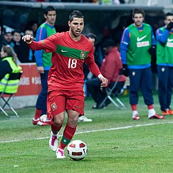Ricardo Quaresma – Portugal vs. Argentina, 9th February 2011 (1).jpg