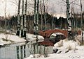Richard Berggoltz. Thaw in Gatchina.jpg