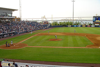 Richmond County Bank Ballpark - During a game in July 2004