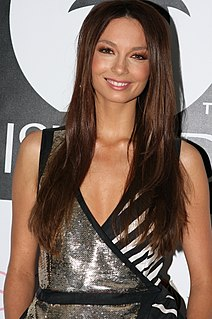 Ricki-Lee Coulter Australian singer, songwriter and television and radio presenter