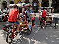 Rickshaw Tours - cycle taxis in Barcelona 02.JPG