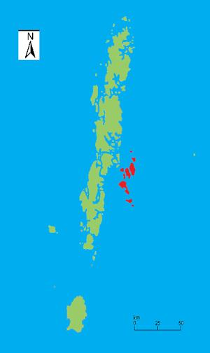 Ritchie's Archipelago - Image: Ritchies Archipelago locale