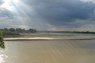 Shahjahanpur City in Uttar Pradesh, India