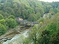 River Swale ^ Bridge from the Castle walls - geograph.org.uk - 1860283.jpg