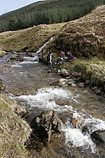 File:River fieldwork in Garrachra Glen - geograph.org.uk - 338477.jpg