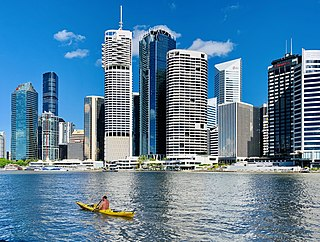 Brisbane capital city of Queensland, Australia
