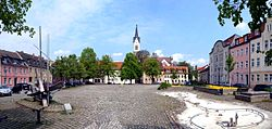 Market Square (Markt) and Town's church