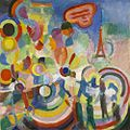 Robert Delaunay - Hommage to Blériot - 1914 - Museum of Grenoble.jpg