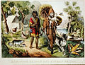 Robinson Crusoe and his man Friday - Currier & Ives c.1874.jpg