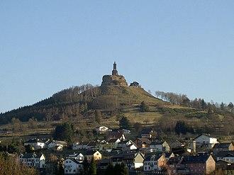 County of Dagsburg - Ruins of Dagsburg Castle