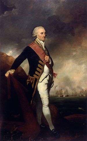 George Brydges Rodney, 1st Baron Rodney - George Brydges Rodney, by Joshua Reynolds in 1789