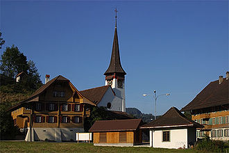 Röthenbach im Emmental - Röthenbach im Emmental, village church