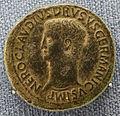 Roma, claudio in nome di druso, sesterzio, 41-42 dc.JPG