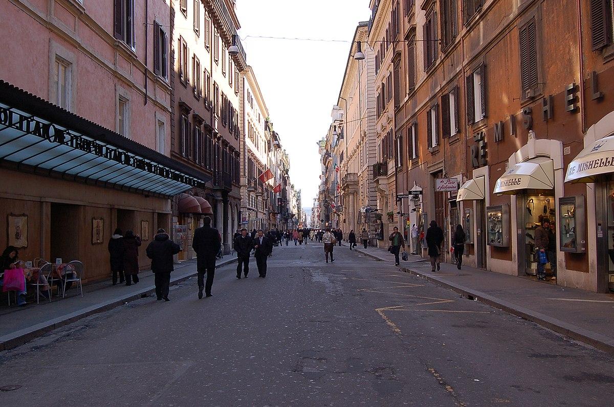 Via del corso wikipedia for Mac roma via del corso