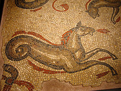 Roman Baths, Bath - Sea Horse Mosaic.jpg