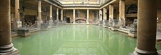 Roman Baths (Bath) - The Roman Baths in Bath