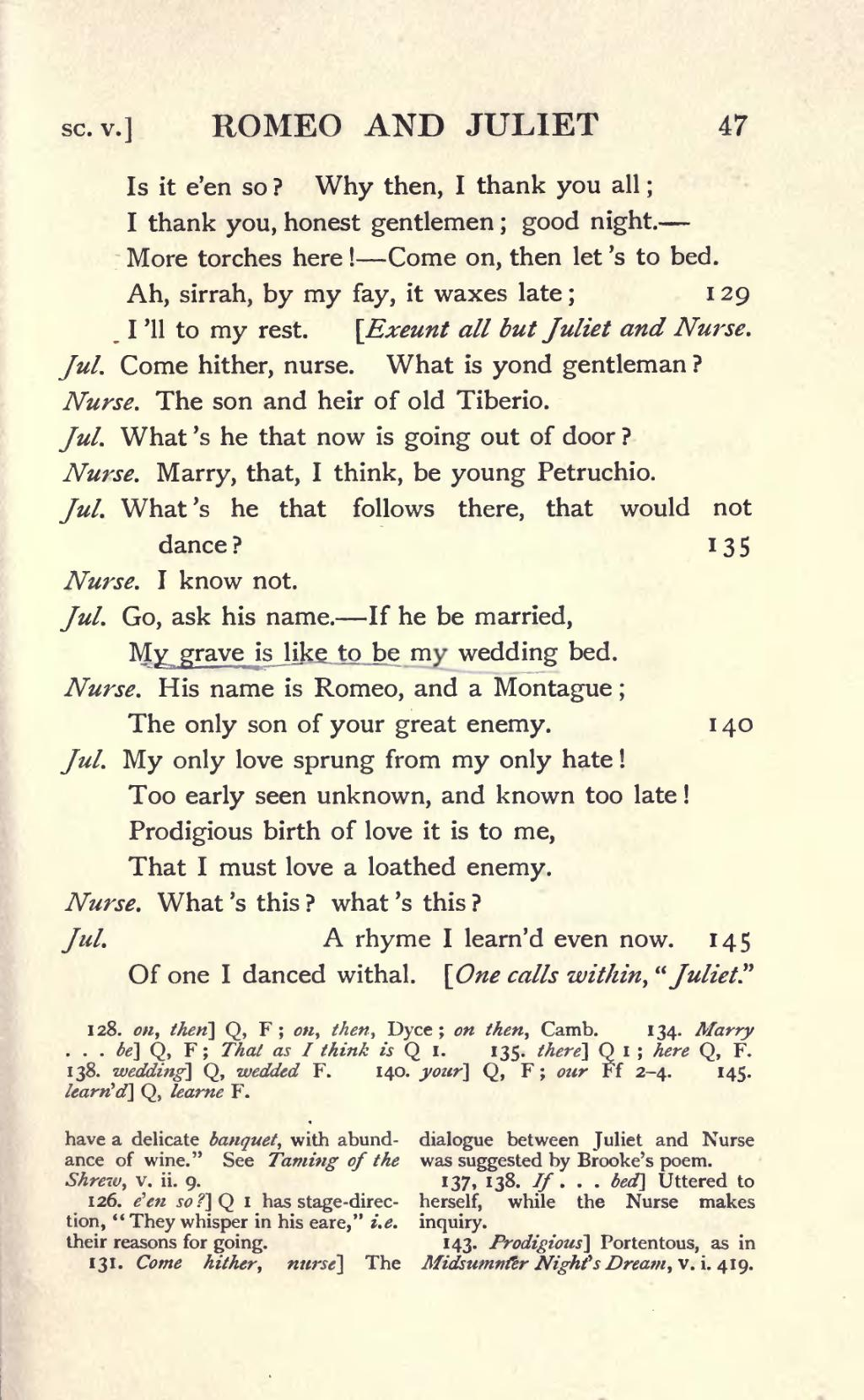 William Shakespeare  Romeo and Juliet  Britannicacom