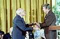 Ronald Reagan and Mstislav Rostropovich C41463-7.jpg