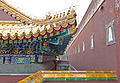 Roof cornice and other architectural detail at Four Great Regions, Summer Palace, Beijing.jpg