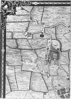 John Rocque's Map of London, 1746