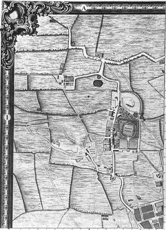 John Rocque's Map of London, 1746 - Image: Roque 1746 London a 1