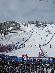 Rosa Khutor Extreme Park during 2014 Winter Olympics.JPG
