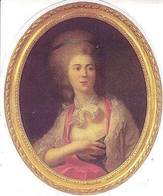 Rosalie Duthé - Image: Rosalie Duthe by Vigee Lebrun (1776)