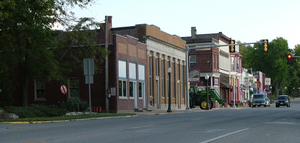 Rossville, Illinois - Downtown Rossville, 2007