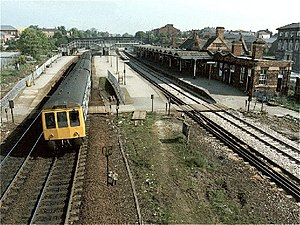 Rotherham Masborough railway station