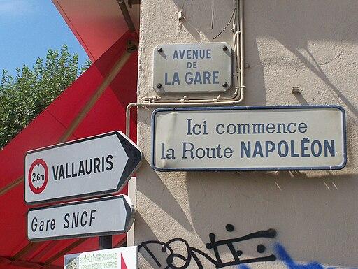 Route Napoléon (Golfe Juan)