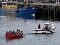 Rowing boat, Bangor harbour (2) - geograph.org.uk - 808589.jpg