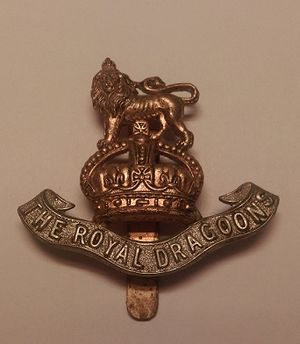 1st The Royal Dragoons - Royal Dragoons Cap Badge