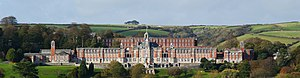 Britannia Royal Naval College - Image: Royal Naval college 3 alt
