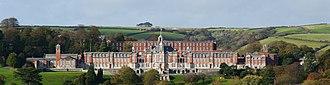 Britannia Royal Naval College - Image: Royal Naval college 3 alt