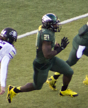 Royce Freeman - Freeman during the 2014 season