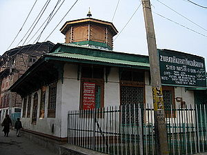 Jesus in Ahmadiyya Islam - The Roza Bal shrine in Srinagar, Kashmir, claimed by the Ahmadis to be the tomb of Jesus.