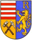 Rudolfov's coat of arms