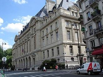 Bibliothèque de la Sorbonne - View of the Sorbonne, rue des Écoles