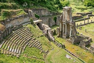 Volterra - The Roman theatre