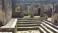 Ruins of Songo Mnara, inside the main building.jpg