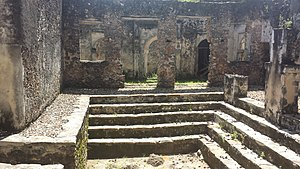 Songo Mnara - Image: Ruins of Songo Mnara, inside the main building
